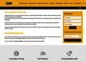 Renaultpartsdirect.co.uk thumbnail