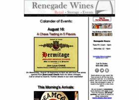 Renegadewines.com thumbnail