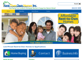 Rentthenownhomes.com thumbnail