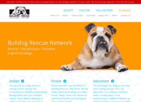 Rescuebulldogs.org thumbnail