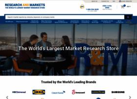 Researchandmarkets.com thumbnail