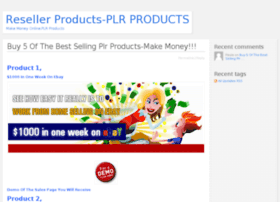 Resellerproducts.info thumbnail
