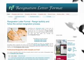 Resignationletterformat.in thumbnail