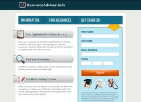 Resourceadvisor.info thumbnail
