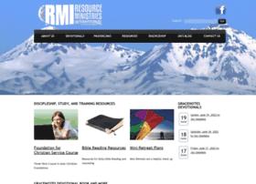 Resourceministries.org thumbnail