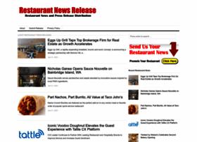Restaurantnewsrelease.com thumbnail