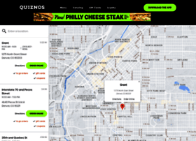 Restaurants.quiznos.com thumbnail