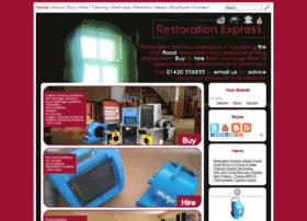 Restoration-express.co.uk thumbnail