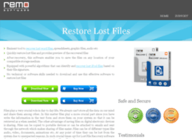 Restorelostfiles.net thumbnail