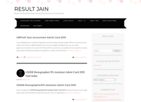 Resultjain.wordpress.com thumbnail