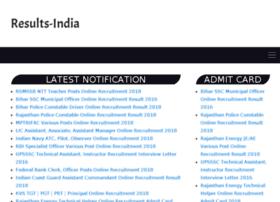 Results-india.com thumbnail