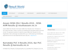 Resultworld.co.in thumbnail