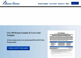 Resume-resource.com thumbnail