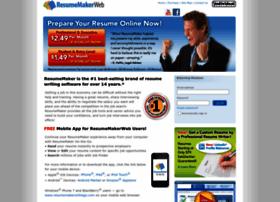 resumemaker.com at WI. ResumeMaker.com | Write a Better Resume ... Resumemaker.com thumbnail
