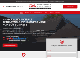 Retractableawning.co.uk thumbnail