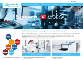 Retsch-technology.de thumbnail