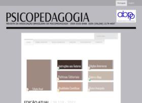 Revistapsicopedagogia.com.br thumbnail