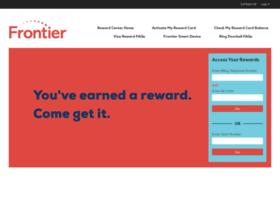 Rewardcenter.frontier.com thumbnail