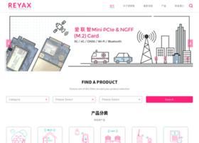 Reyax.com.cn thumbnail
