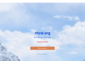 Rhcw.org thumbnail