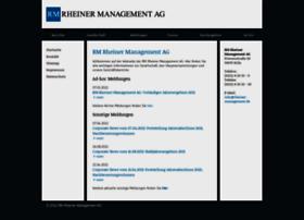 Rheiner-management.de thumbnail