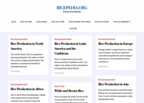Ricepedia.org thumbnail