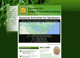 Richmondhillgardensociety.org thumbnail