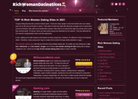 Site richwoman dating No.1 Rich