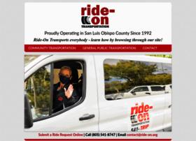 Ride-on.org thumbnail