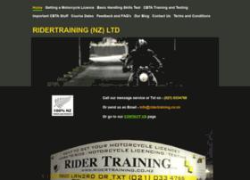Ridertraining.co.nz thumbnail