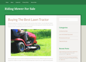 Ridingmowerforsale.net thumbnail