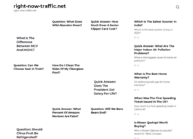 Right-now-traffic.net thumbnail