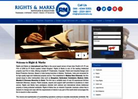 Rightsandmarks.org thumbnail
