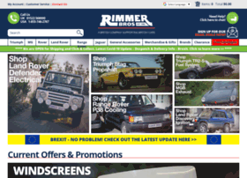 at wi rimmer brothers triumph car parts mg rover car parts and land. Black Bedroom Furniture Sets. Home Design Ideas