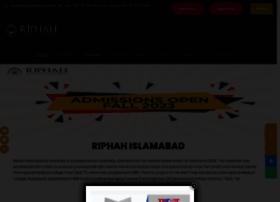 Riphah.edu.pk thumbnail