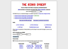 Risks.org thumbnail