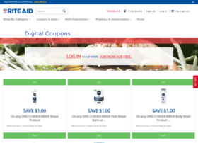 Riteaid.couponselectionpage.com thumbnail