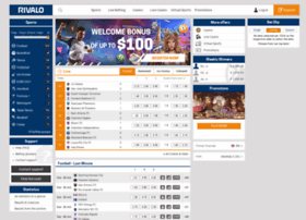 Rivalo live betting online football board for betting websites