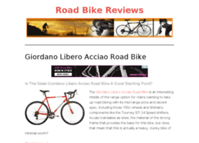 Roadbikereviews.info thumbnail
