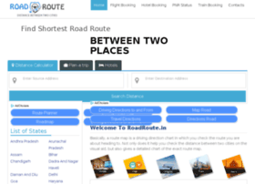 Roadroute.in thumbnail