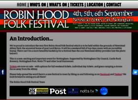 Robinhoodfolkfestival.co.uk thumbnail