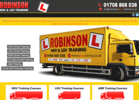 Robinsonlgvhgvtraining.co.uk thumbnail