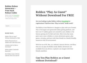 Robloxrobuxgenerator.net thumbnail