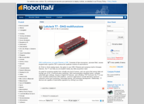 Robot-italy.com thumbnail