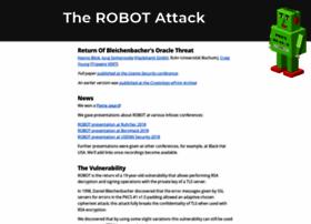 Robotattack.org thumbnail