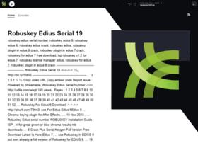 Robuskey-edius-serial-19.simplecast.com thumbnail