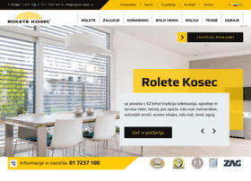 Rolete-kosec.si thumbnail