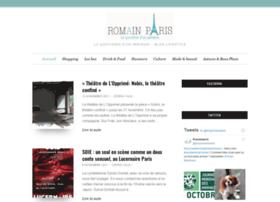 Romainparis.fr thumbnail