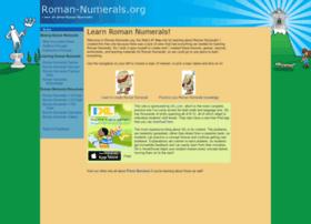 Roman-numerals.org thumbnail