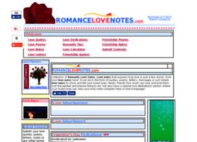 Romancelovenotes.com thumbnail